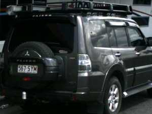 Police call on public for help in search for stolen Pajero