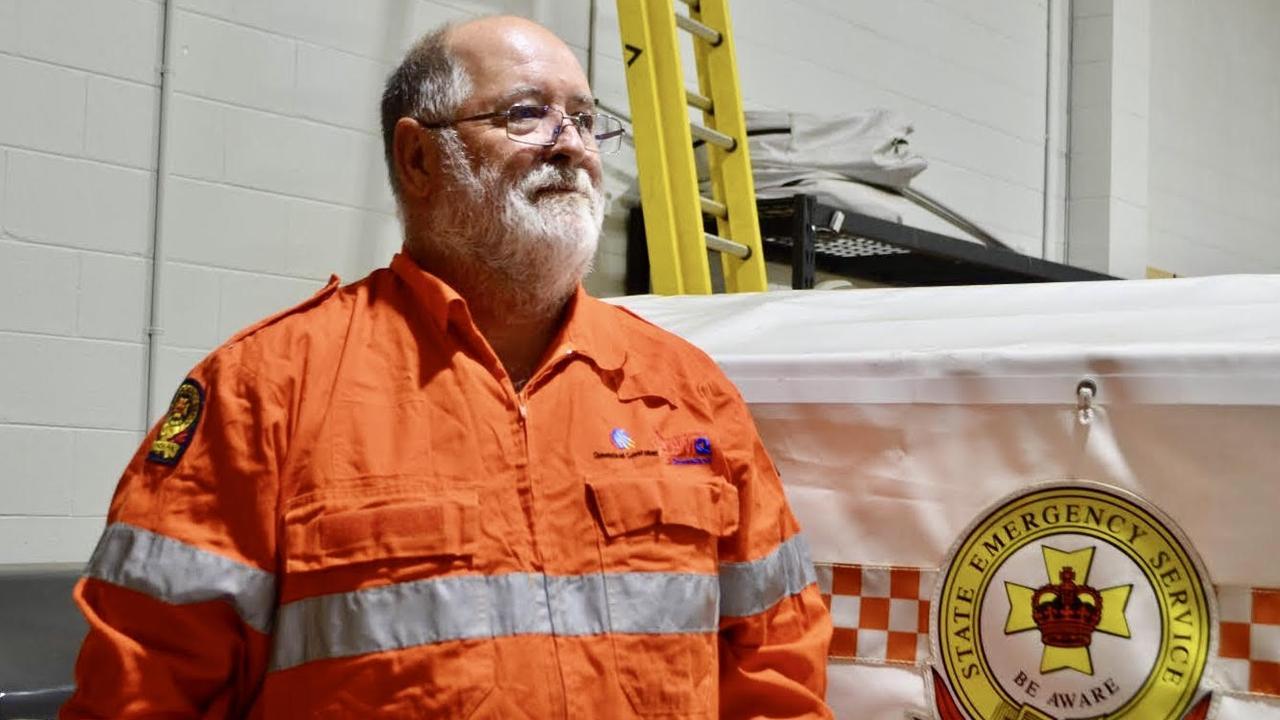 ORANGE ARMY: Warwick SES local controller John Newley reflects on the 10 year anniversary of Cyclone Yasi.