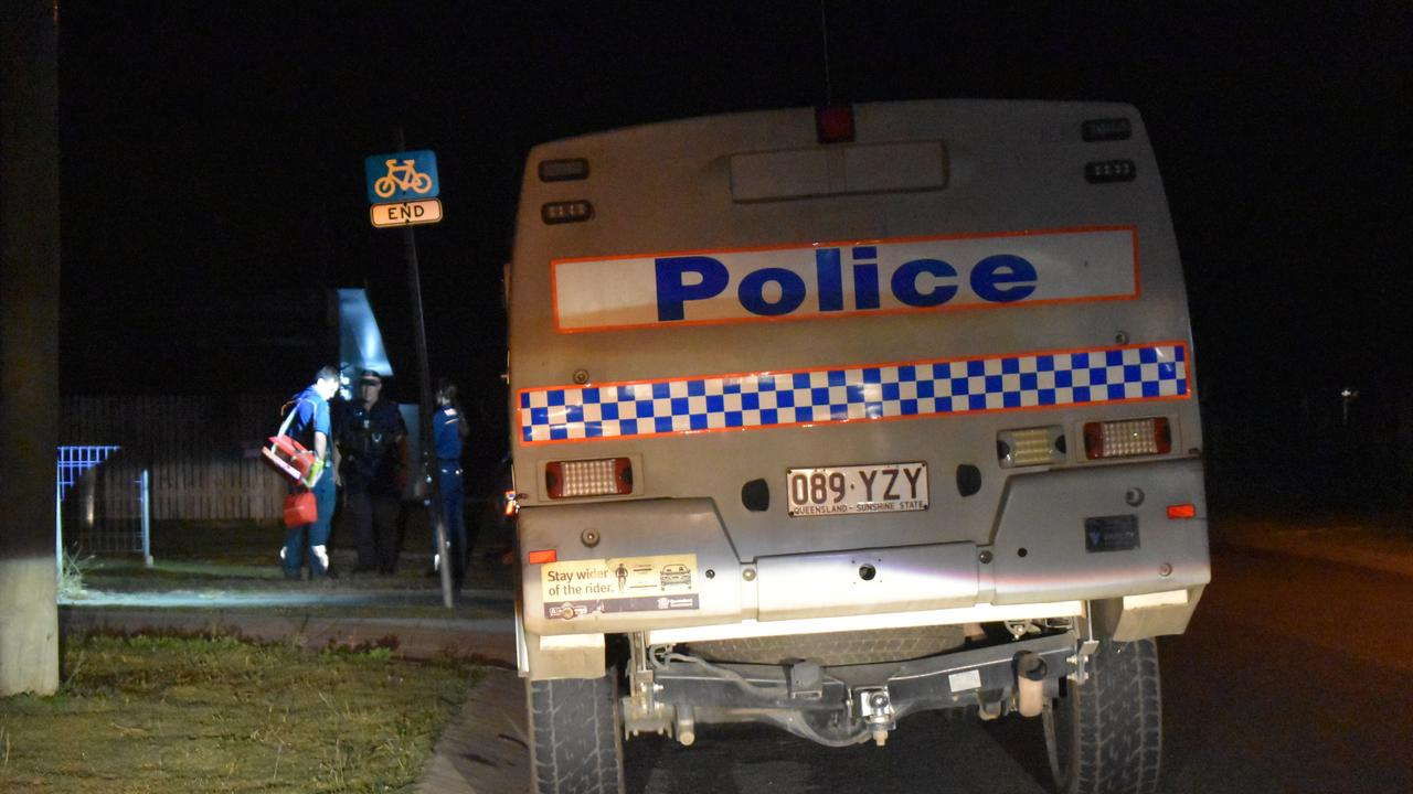 CRIME SNAPSHOT: Queensland Police Service attending a nightime incident. Picture: File
