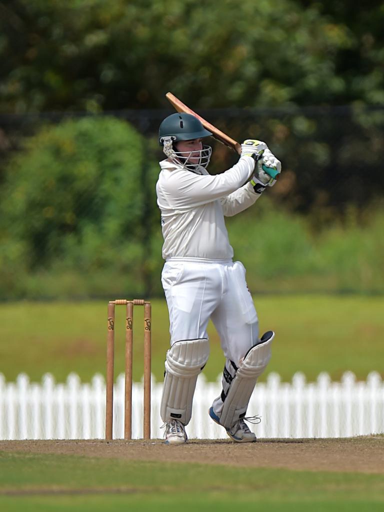 Glasshouse batsman Daniel Cahill.