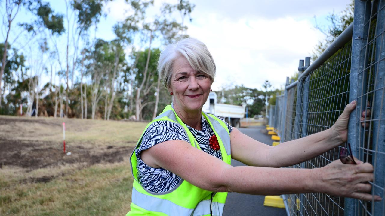 Margaret Strelow ready to tear down the fences as Kershaw Gardens comes one step closer to revitalisation Photo Trinette Stevens / Morning Bulletin