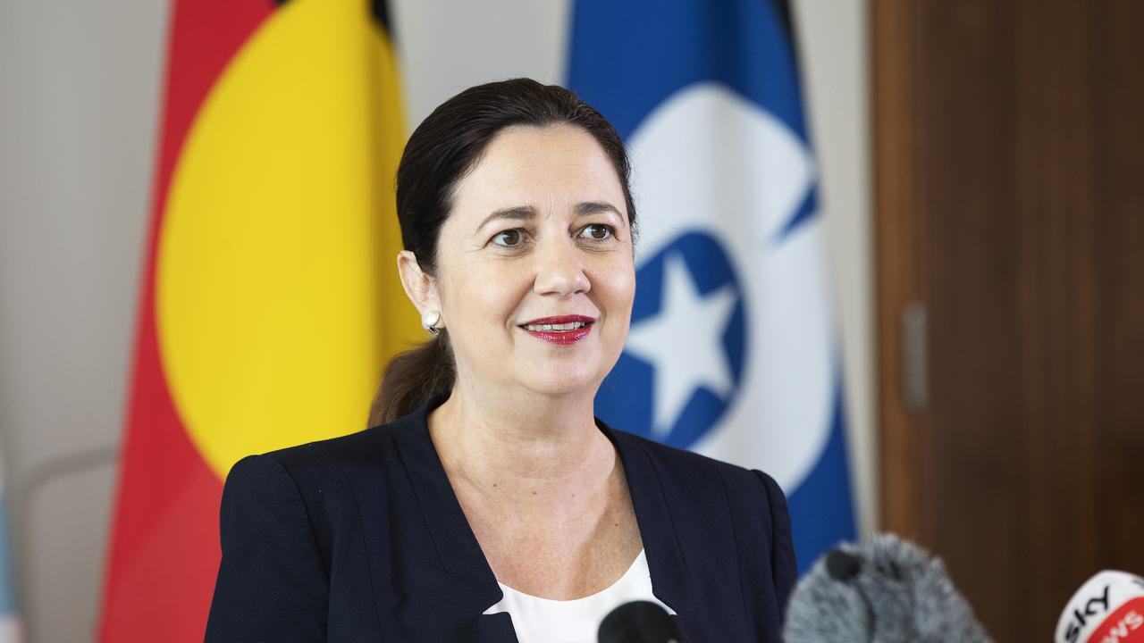 Premier Annastacia Palaszczuk. (News Corp/Attila Csaszar)