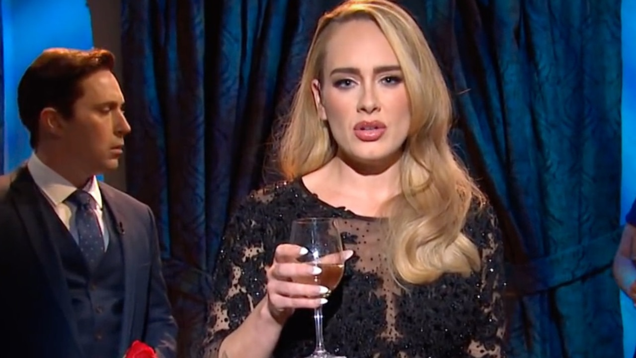 Adele on Saturday Night Live late last year.