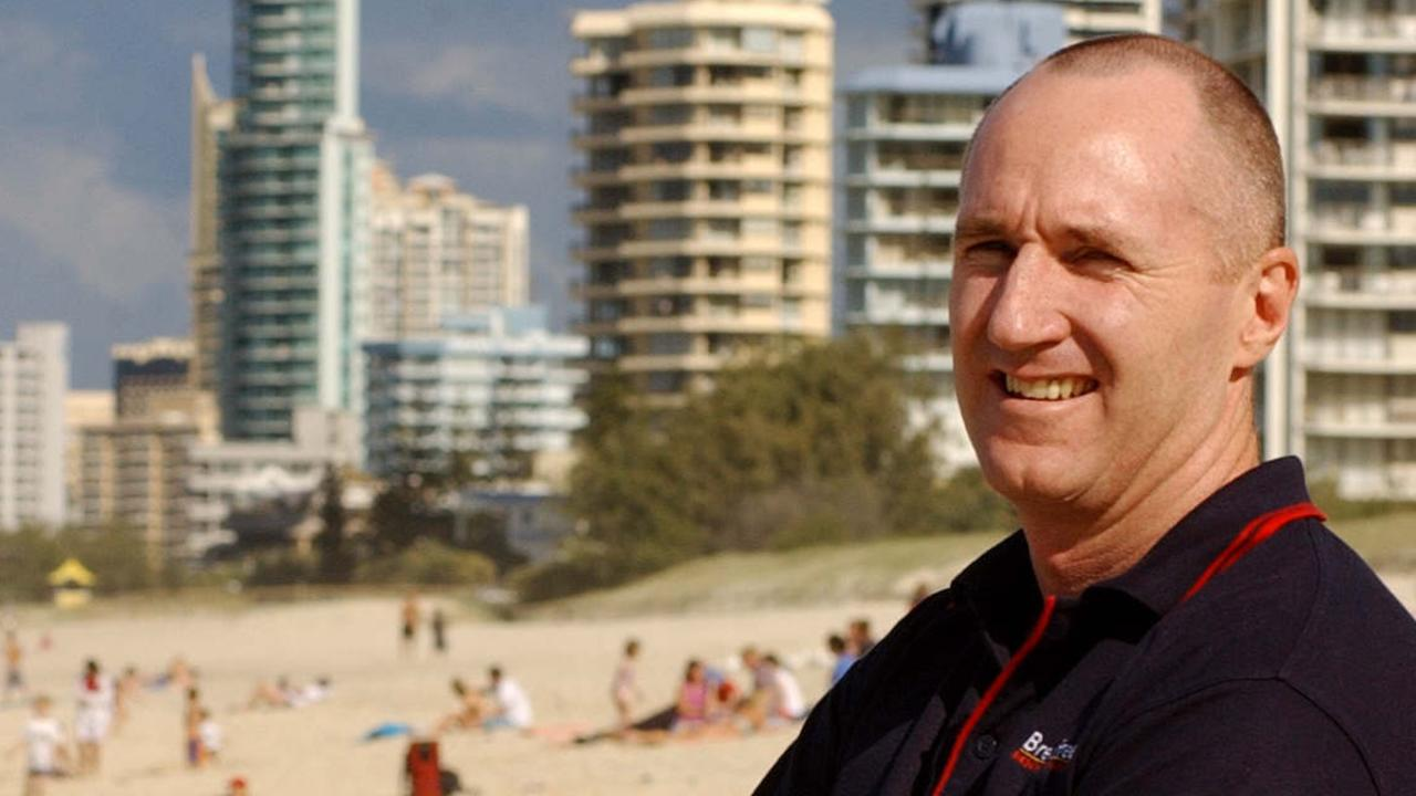 Former AFL player Tony Smith is focussing his attention on Palm Beach.