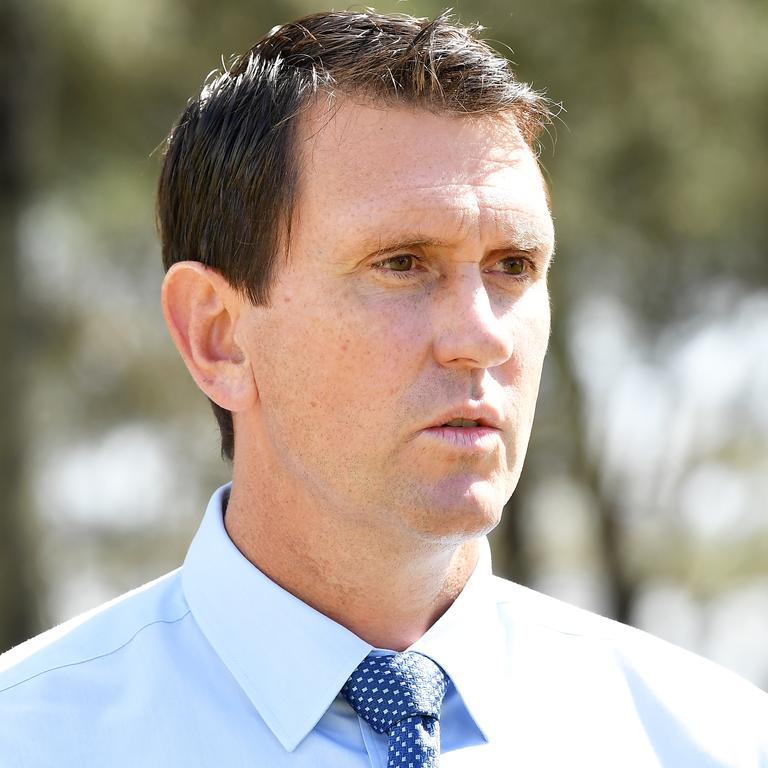 LNP Shadow Police Minister Dan Purdie. Picture: Patrick Woods