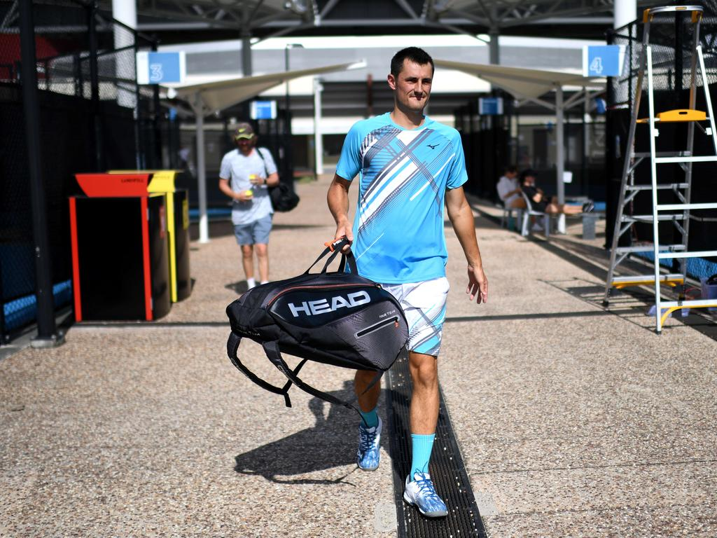 Bernard Tomic is going into the Open ice cold.