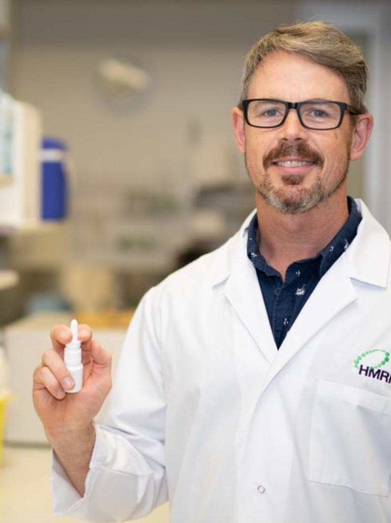 University of Newcastle and Hunter Medical Research Institute (HMRI) researcher Associate Professor Nathan Bartlett. Supplied.