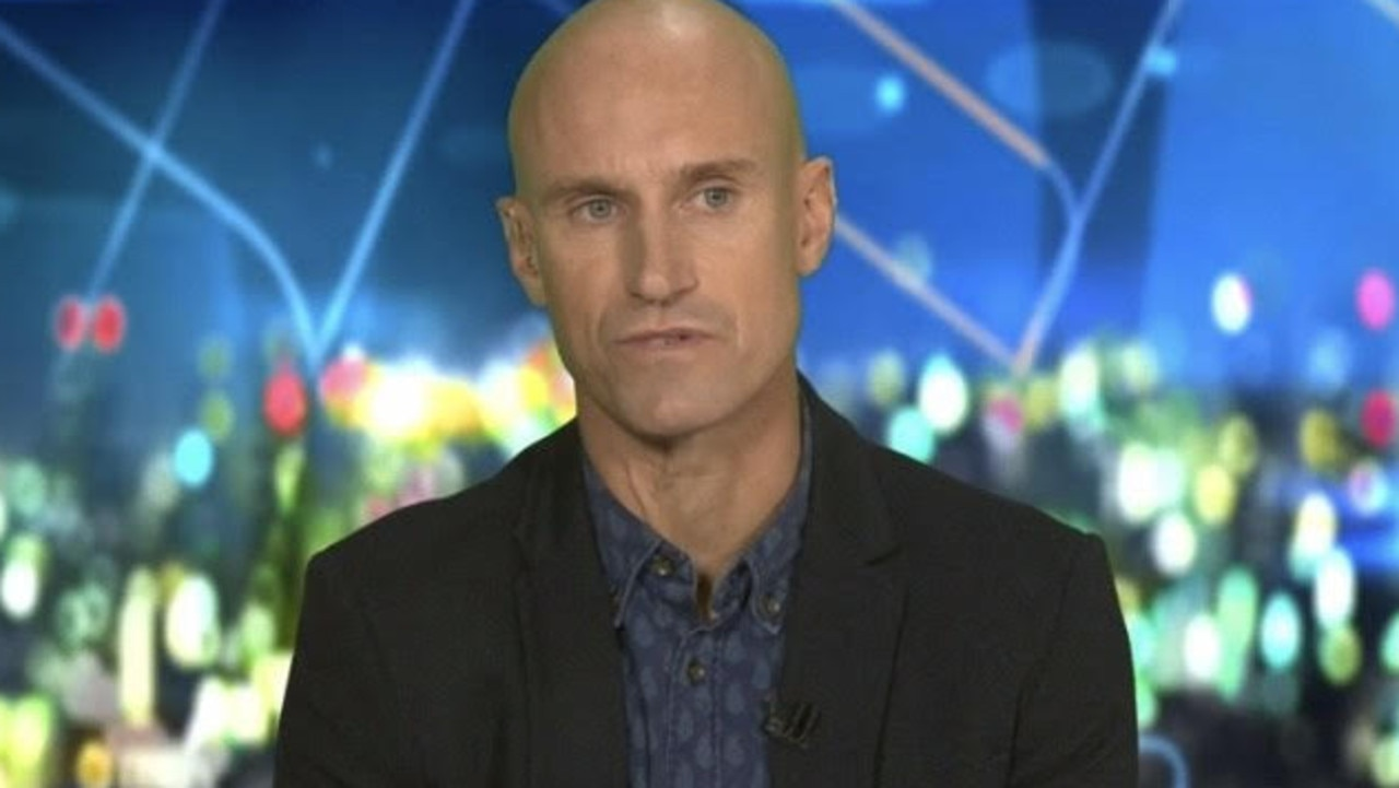 Fitzy dubbed Evans' podcast 'My Conspiracy Rules'. Picture: Channel 10