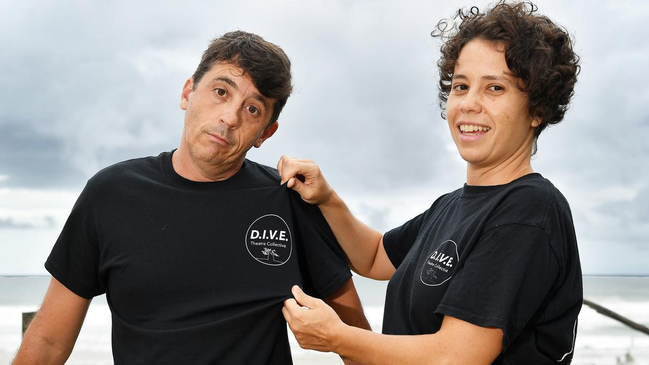 Priscila Da Cunha and her partner Cesar Genaro are hoping to raise awareness about the challangers endured by immigrants. Picture: Patrick Woods.