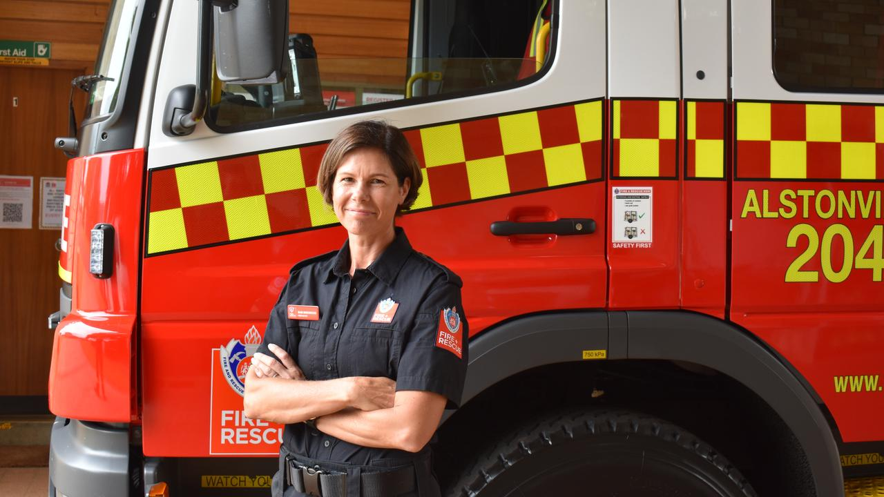 Samantha Birkwood has joined Alstonville Fire Station as a new on-call firefighter. (Credit: Adam Daunt)