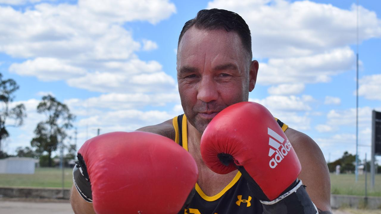 REDEMPTION: Legendary two-time Australian Boxing Champion Justin 'Clemo,' is coming out of retirement, and shaping up to win the WBF Australian heavy weight title in February 2021. Pic: Peta McEachern