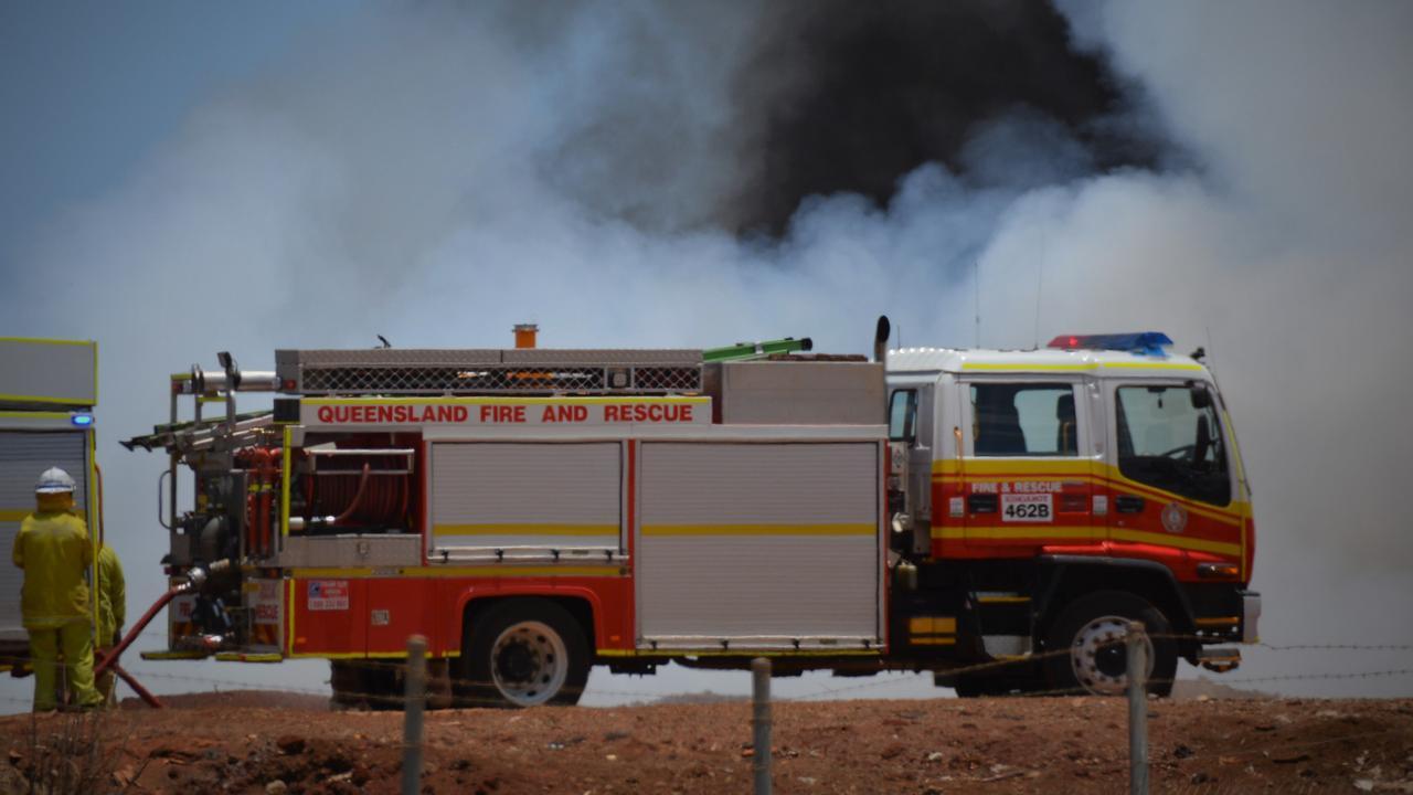 Emergency services were called to Noosaville.