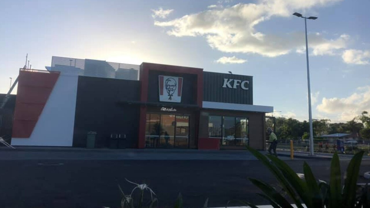 The new KFC store at Urangan is set to open soon. Picture: Phil Trevena/Facebook