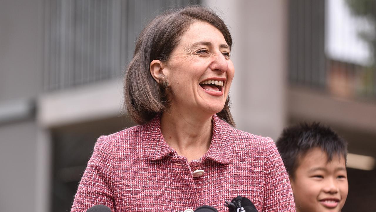 NSW Premier Gladys Berejiklian says Annastacia Palaszczuk is a victim of her own policies. Picture: Flavio Brancaleone