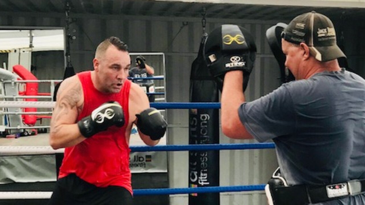 COME BACK: Legendary boxer Justin 'Clemo' set to take out Aus heavyweight title