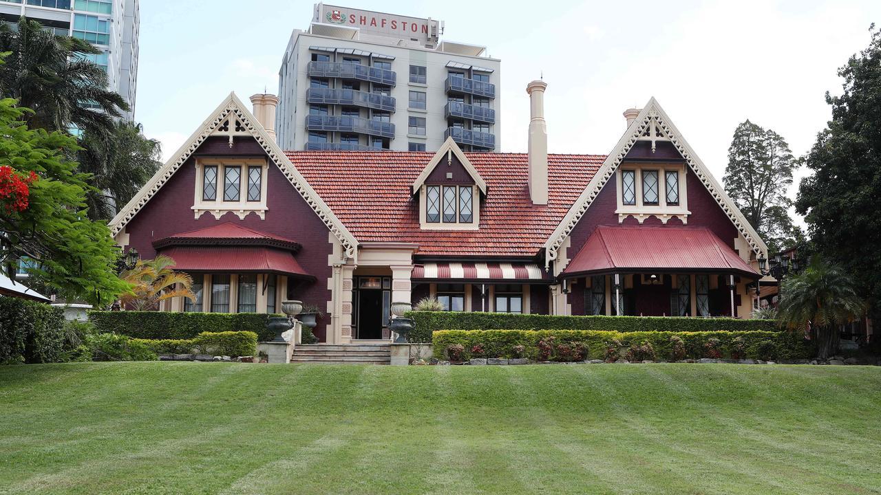 Shafston House at Kangaroo Point. Pics Tara Croser.