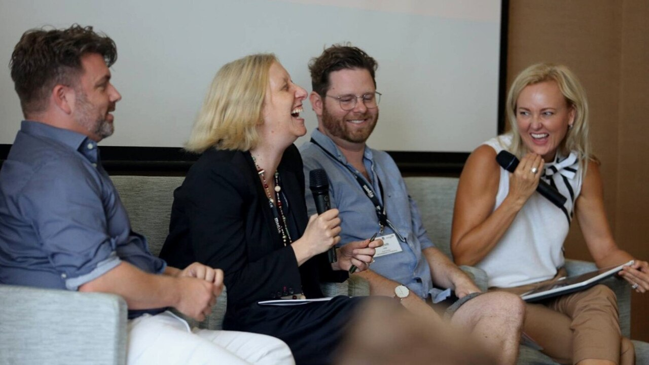 A panel from the 2019 version of Regional to Global Screen Forum, formerly known as The Business of Producing.