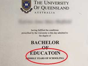 There's a glaring typo on this degree - can you see it?