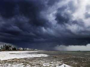 Coast cops downpour from slow-moving system