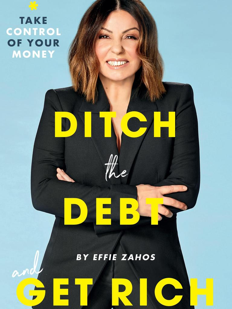 Effie Zahos's new book, Ditch the Debt and Get Rich