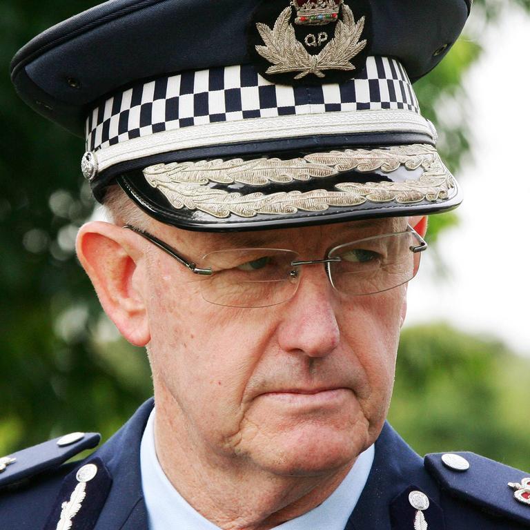 Former police commissioner Bob Atkinson.