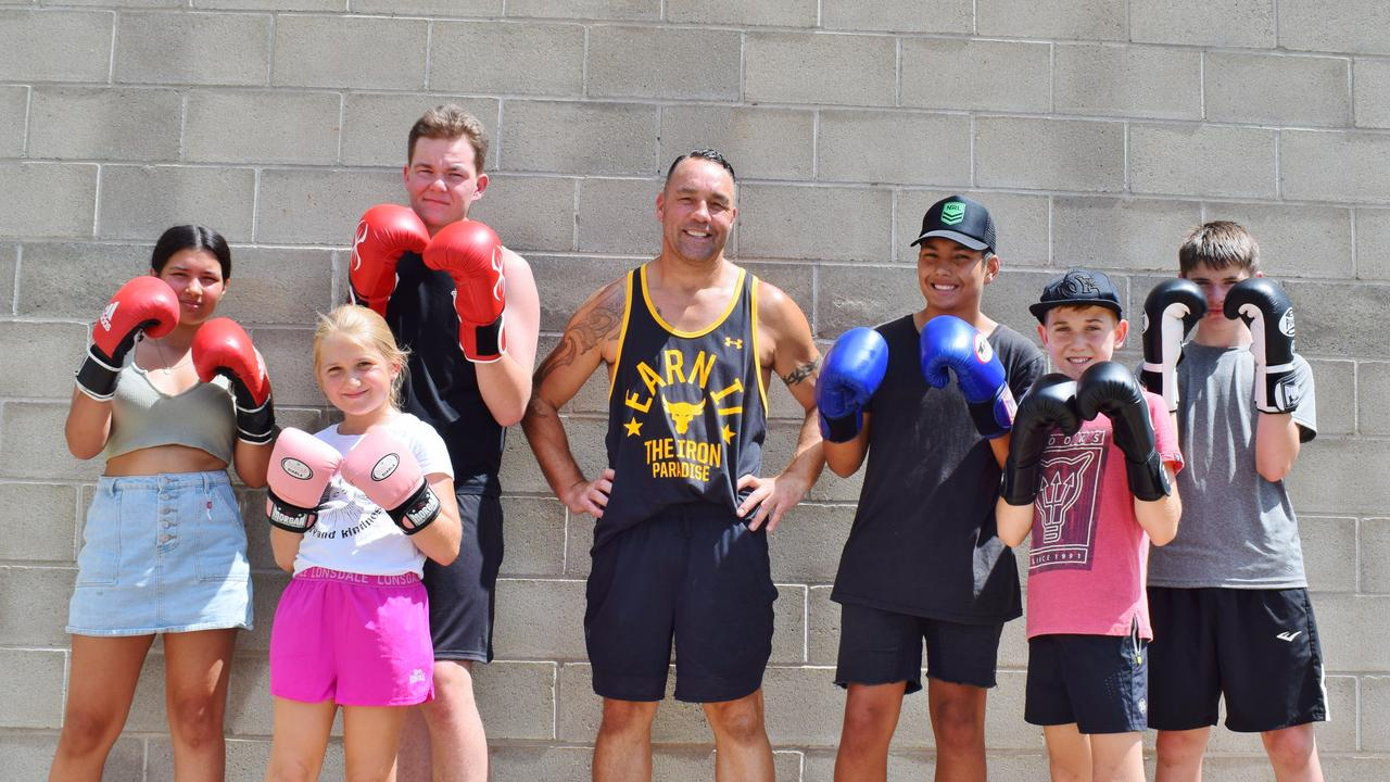 NEXT CHAMPIONS: A new Western Downs boxing club, headed by two-time Australian Boxing Champion Justin 'Clemo,' is set to train the next generation of lengends in Miles. Pic: Peta McEachern