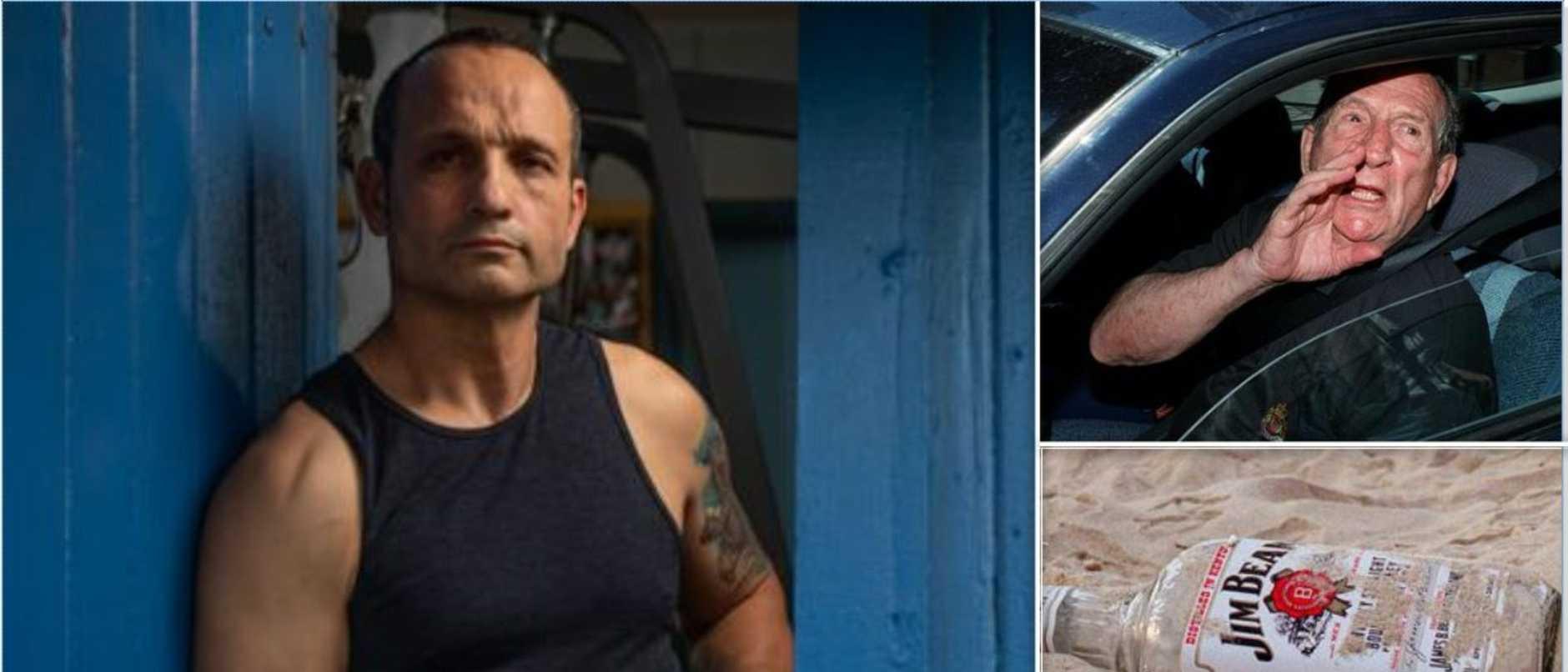 'F**kin break his arm': Mr Big's hit on Jim Beam boss