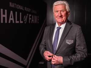 Look who's back! Voice of rugby league returns