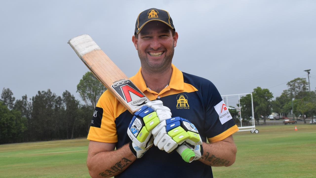 Gympie Gold XI - Batsman Steve Brady reached the 6000 run mark on the weekend. Picture: Bec Singh