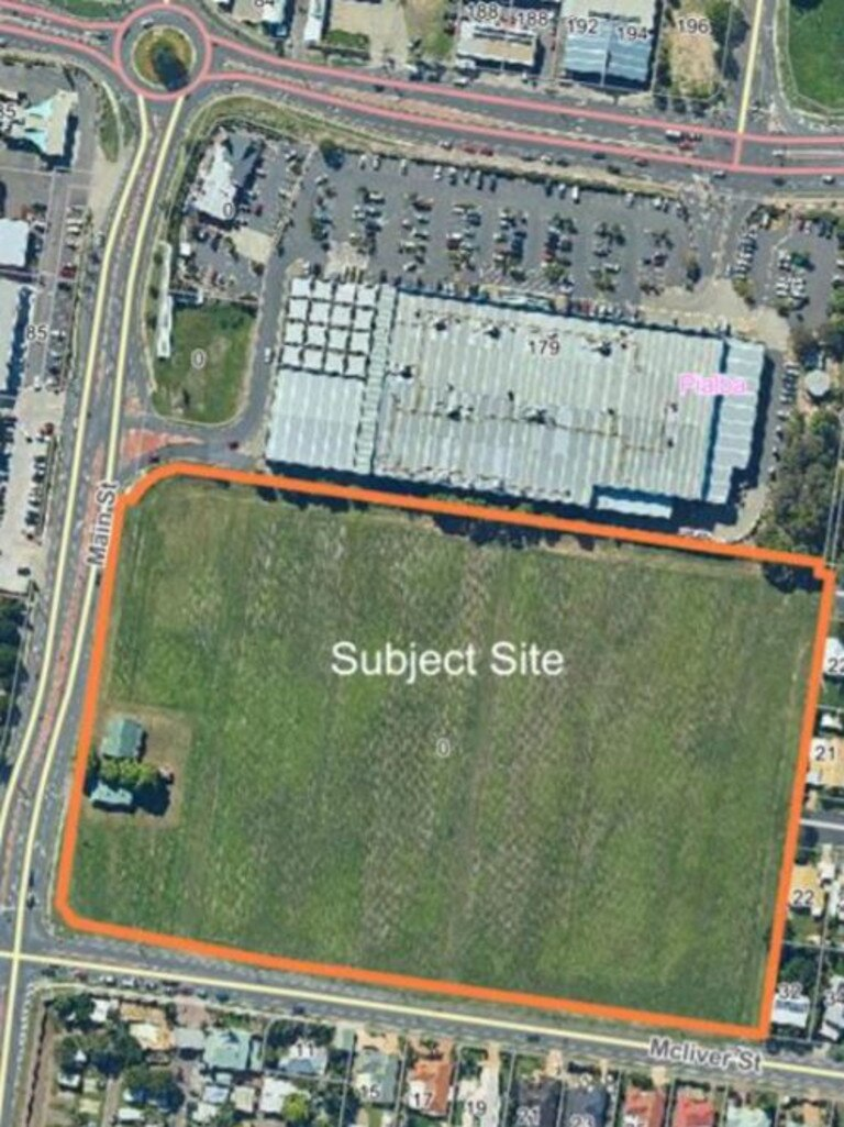 BUNNINGS DEVELOPMENT: The site of a new Bunnings building in Hervey Bay.