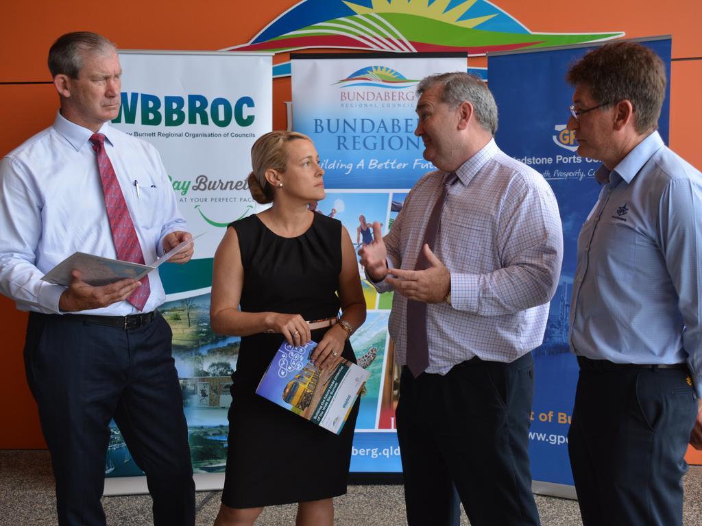 North Burnett Mayor Rachel Chambers has stepped up as WBBROC Chair as Bundaberg Council resigns its membership. File Photo.