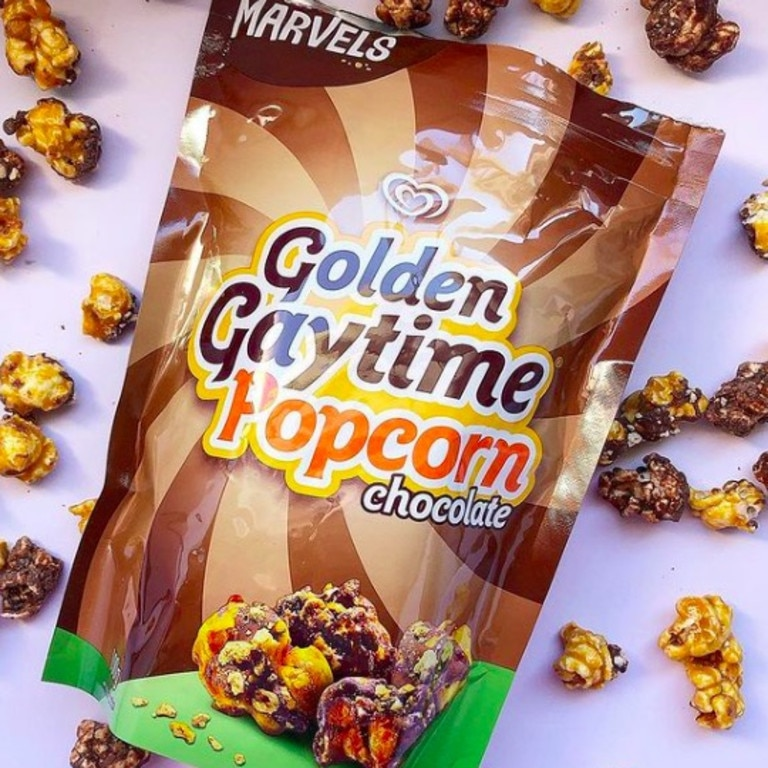 It also comes in a chocolate flavour. Picture: Instagram/@foodfindsgeelong.