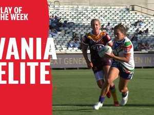 Play of the Week: Pelite scores big on her NRLW debut | KFC SuperCoach NRL