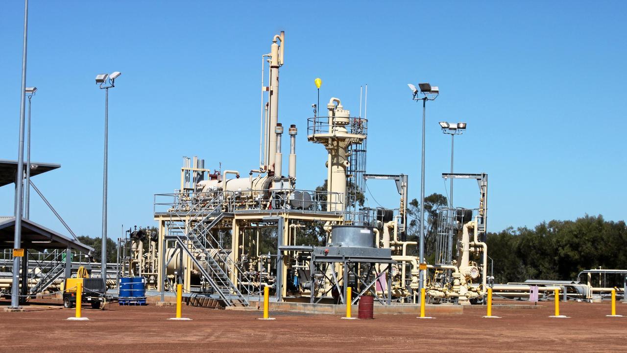 IMPRESSIVE: The Moranbah Gas Project (MGP) coal seam gas processing plant in the Bowen Basin. Photo Simon Green / CQ News