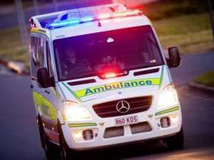 Man transported to hospital following crash near Gayndah