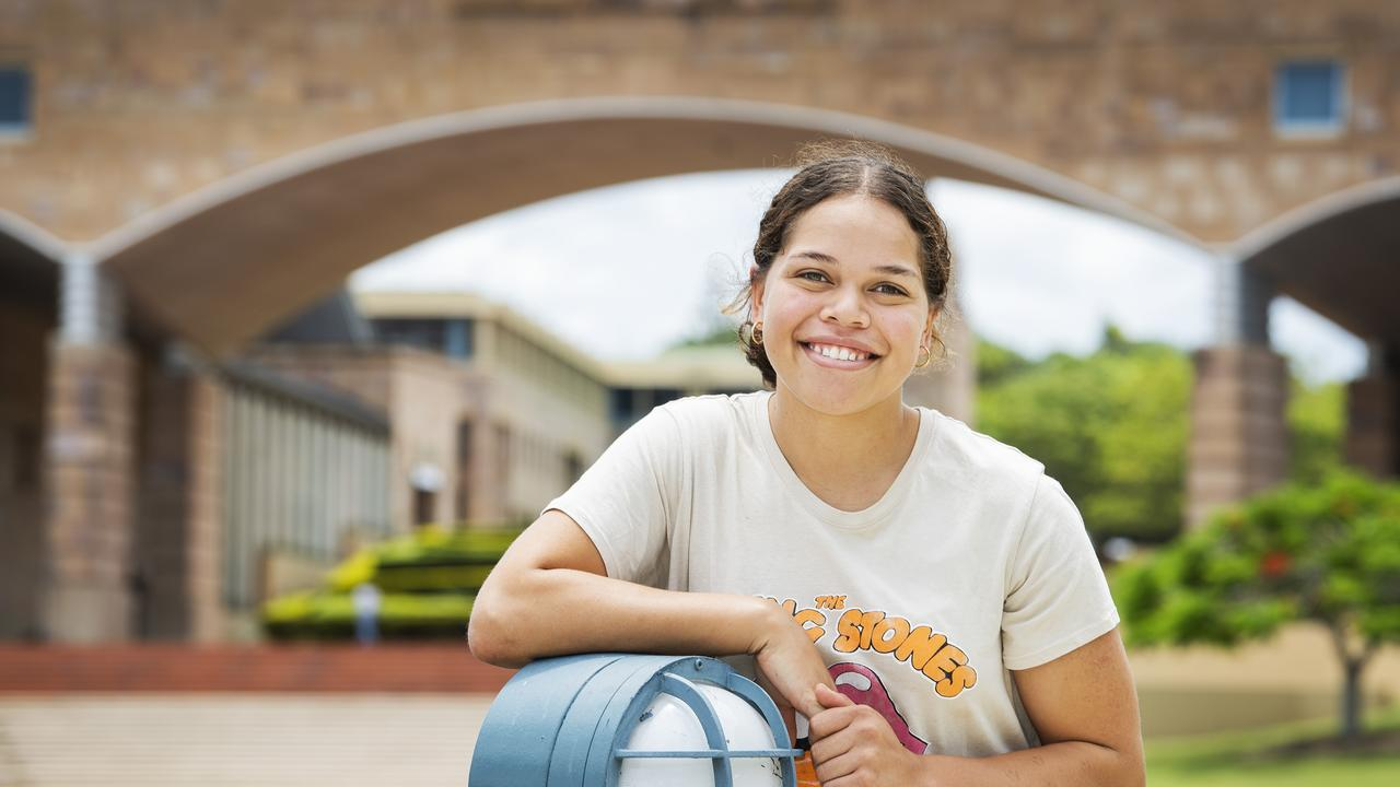Abelee Stanley is set to study a diploma of arts at Bond University. Photo/Contributed