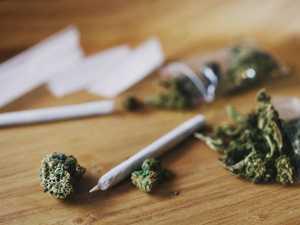 Police find 'ball of marijuana' inside car