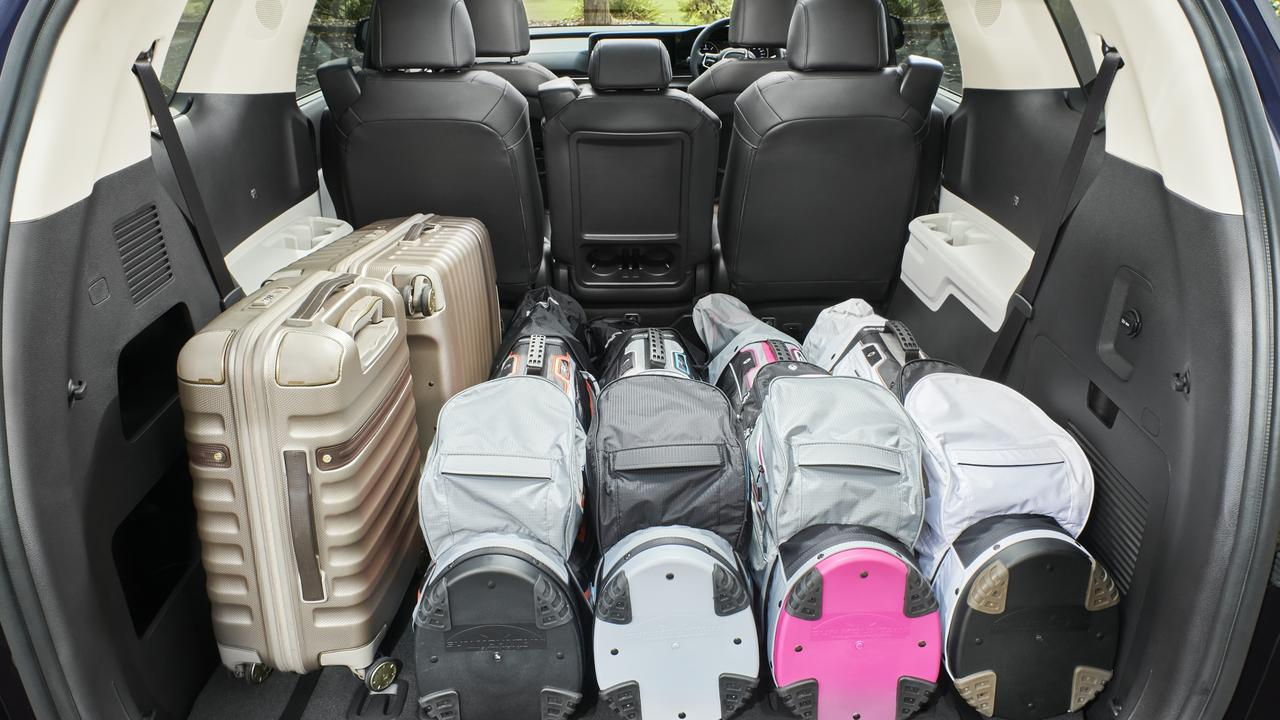 SUVs are known for their big cargo space when you fold down the seats.