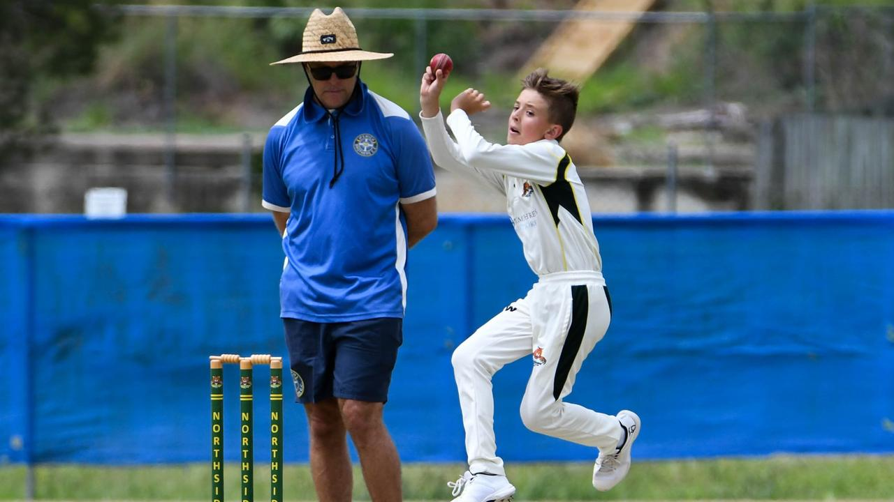 Action from the latest Level 2A cricket match between Northsiders at Brothers at Keith Sternberg Oval. Picture: Gary Reid
