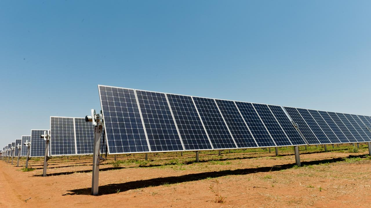Idemitsu Australia Resources Pty Ltd has submitted a development application for a 90MW solar farm near Comet. Photo: file