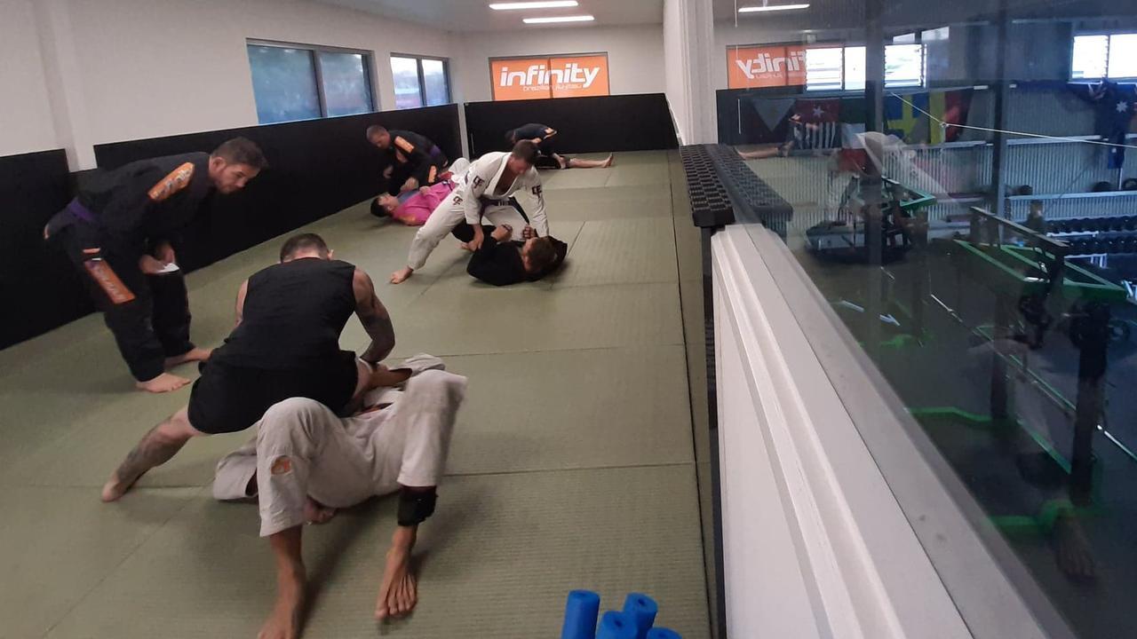Brazilian jiu jitsu gym Infinity Nambour opened this week.