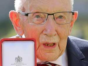 COVID hero Captain Tom dies aged 100