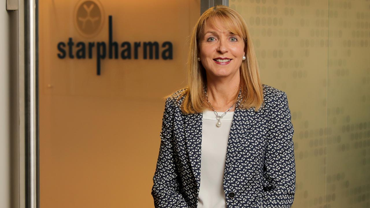 Jackie Fairley, CEO of Starpharma, health care and biotech company, in Melbourne. Picture: Stuart McEvoy/The Australian.