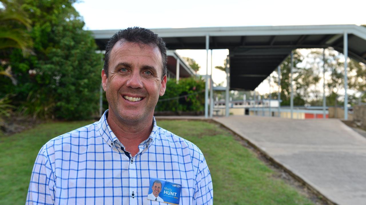 Former Nicklin MP Marty Hunt.