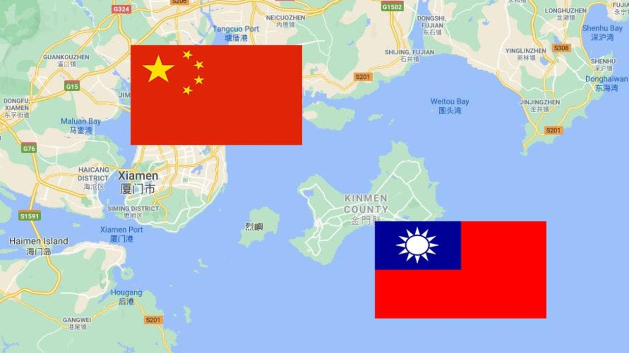Kinmen island is part of Taiwan but lies just off the coast of China.