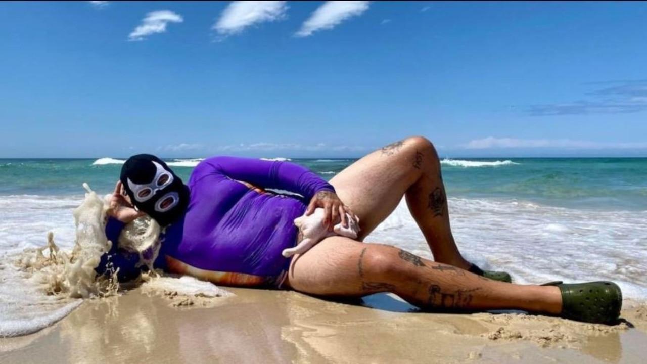 Social media star Willem Powerfish, aka Willem Ungermann