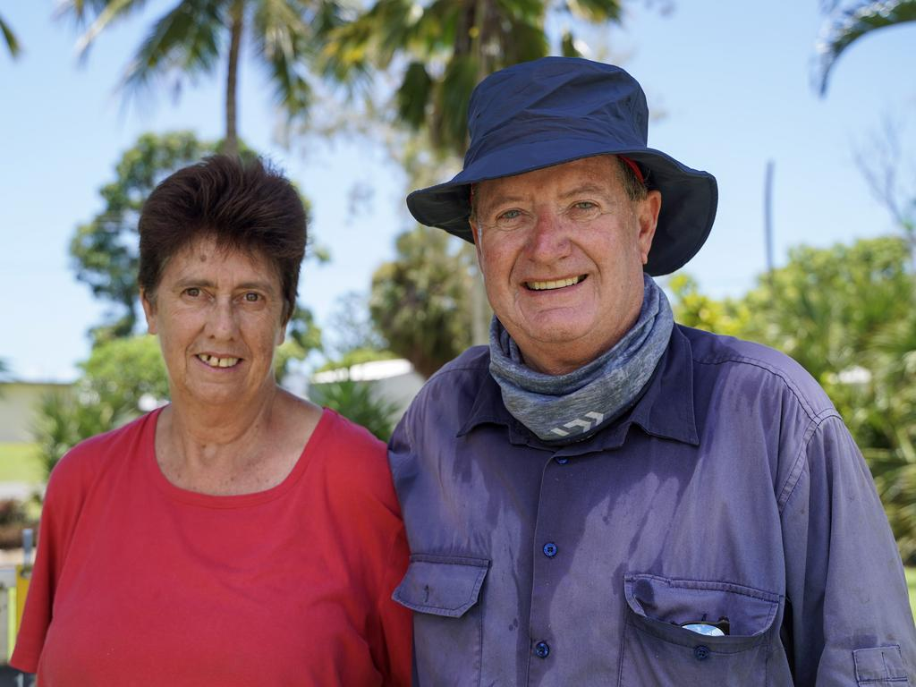 Anne and Ivan Butson moved from the Pilbara in Western Australia to retire at Seaforth. Picture: Heidi Petith