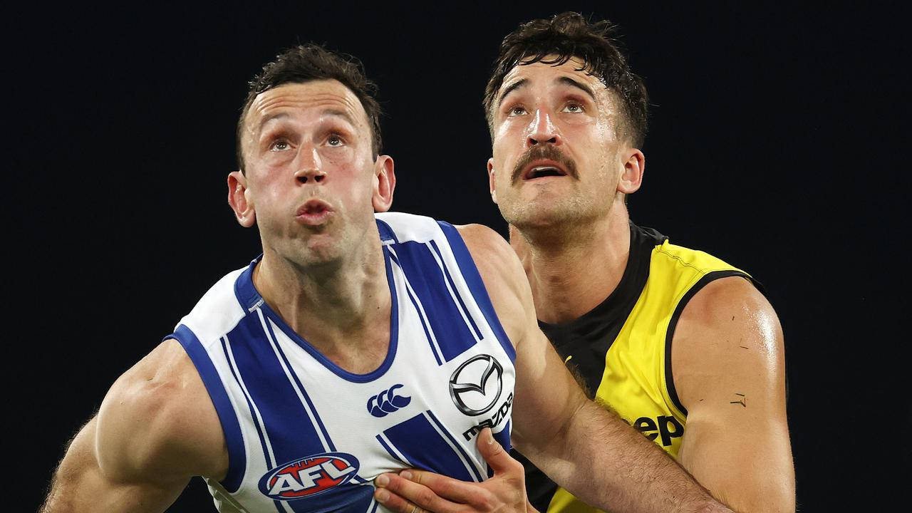 Todd Goldstein remains North Melbourne's number one player. Picture: Michael Klein