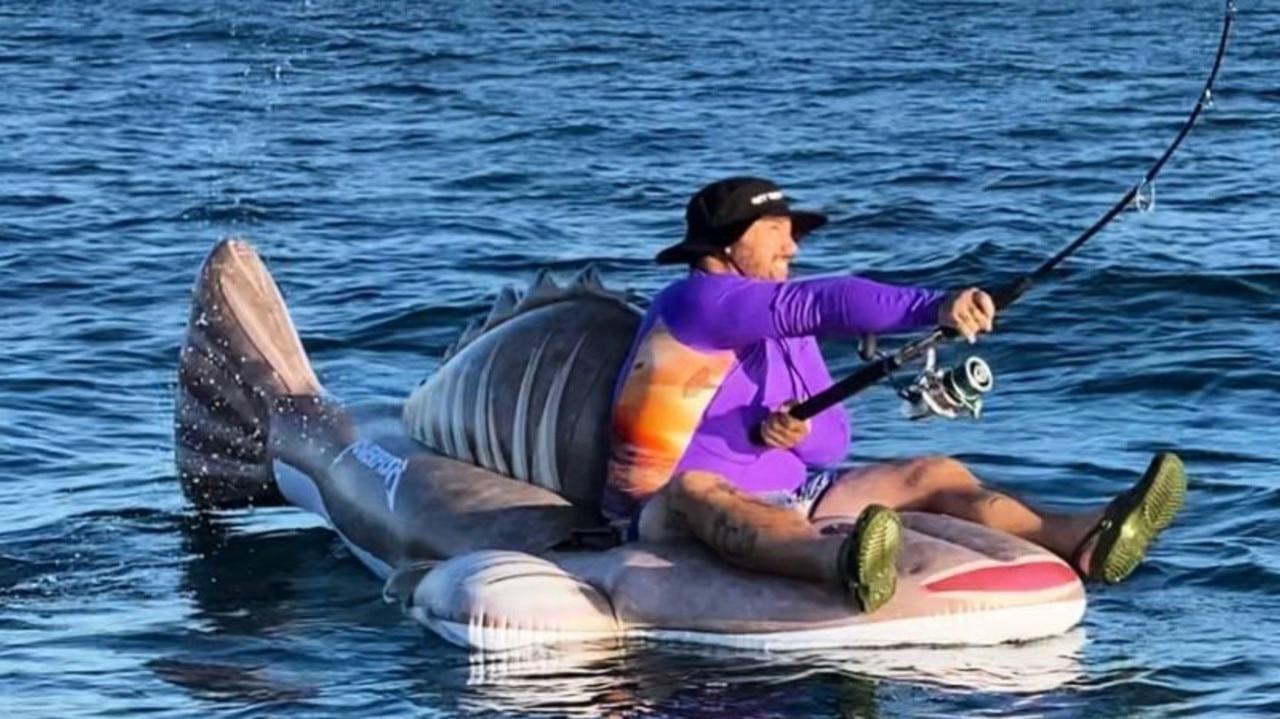 Social media prankster Willem Powerfish reels in fans hook, line and sinker.