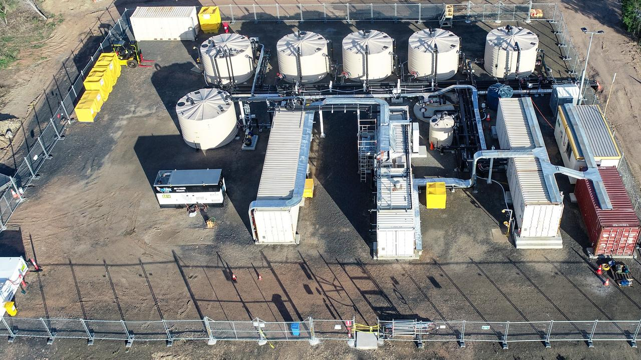 Aquila's reverse osmosis plant at Anglo American's Cap coal complex near Middlemount.